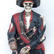 torso esqueleto pirata