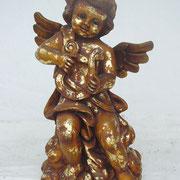 ángel de pie con arpa