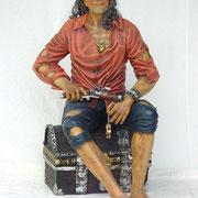 pirata de caja del tesoro