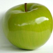 figura de manzana verde