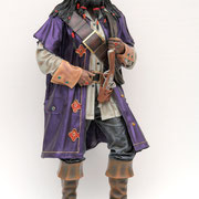 figura de pirata del caribe