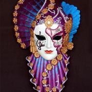 máscara colombina