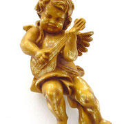 ángel de pared con guitarra