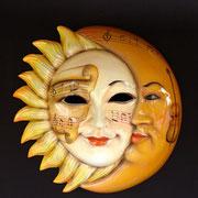 máscara sol y la luna