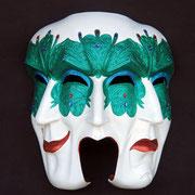 máscara pulcinella