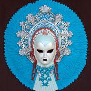 máscara ombra azzurra