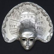 máscara veneciana laguna blu
