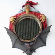 bruja espejo de marco