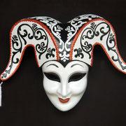 máscara arlequin
