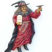 bruja pared con soporte para vela