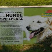 Hundespielplatz im Ferienpark