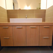 Mobile bagno in Rovere sbiancato
