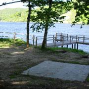 Pontont handicapé au barrage des bariousses