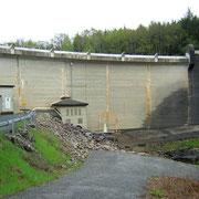 Le barrage des Bariousses