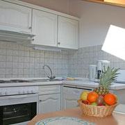 Küchenzeile in Ferienwohnung 6 + 7