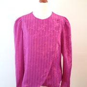 Gorgeous Fuscia Pink 80's Origami Blouse CHF 55