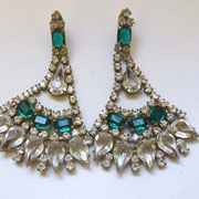 Vintage Bohemian Crystal Earrings CHF 69