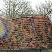 (1331) toiture effondrée
