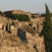 (1303) Vue sur des ruines de Pompei