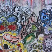 (2810) Street art sur un mur de Rio