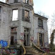 (1416) Jardin arrière du Chateau de Goussainville