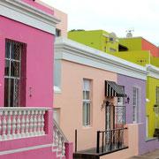 (7714) Quartier musulman Bo-Kaap à Cape Town