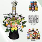 盛籠 各種(大)1基 ¥15,000 / (小)1基¥10,000(税別)