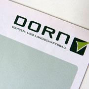 designgrund - Logo Dorn - Garten- und Landschaftsbau in Coburg