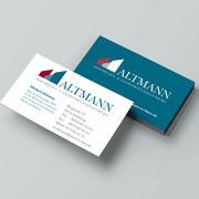Logo und Geschäftsausstattung für Altmann Sachverständigenbüro