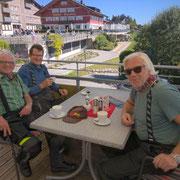 Kaffeepause in Sulzberg (AT)