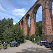 Himbächel-Viadukt - höchste  Eisenbahnbrücke in Hessen von 1881