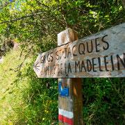 Chemin de Saint Jacques de Compostelle à Monistrol-d'Allier