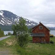 Fjord d'Alta; neige à 300m