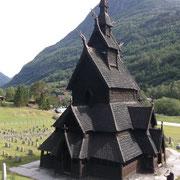Eglise à bois debout de Borgund