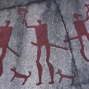 Tanum; peintures rupestres