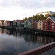 Trondheim et ses maisons colorées