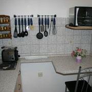 Ferienwohnung Anna Maria - Küche mit Internet (WLAN)