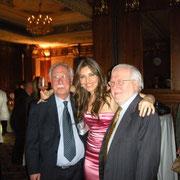 Con Patricia Titeica e Giorgio Rosenfeld, al compleanno di Patricia 2011