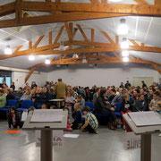 200 personnes (y compris les candidats) se sont déplacées à Beaumetz