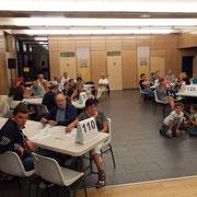 60 personnes ont assisté à la soirée; un peu plus qu'en 2013