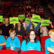 Les supporters de Lanchères