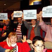 Les supporters de Saint Valery Notre Dame