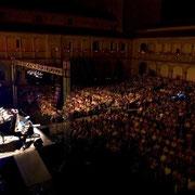 """""""A Su Manera. Tributo a F. Sinatra"""". Claustro de los Reyes. Avila. 21 de Agosto 2010. Pedro Ruy-Blas & Bob Sands Big Band."""