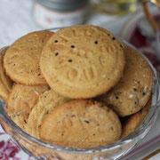 Hausgemachte Kekse ohne Zucker.