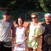 v.l. Markus Christen, Reinhilde Kitzmann, Malgorzata Pajak, Heinrich Burczyk (Foto: H. Burczyk)