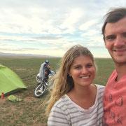 unser 1. Campingplatz