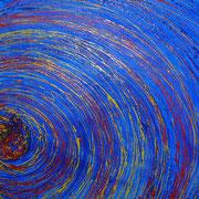 Karola Fels - Blau - Acryl 2007