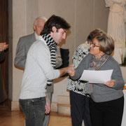 Biarritz, remise des prix du concours international d'orgue (octobre 2011)