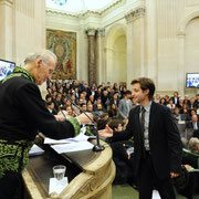 Paris, Institut de France, remise du Grand Prix d'Orgue Jean-Louis Florentz (novembre 2011)