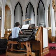 Rimouski (Québec), cathédrale (juillet 2011)